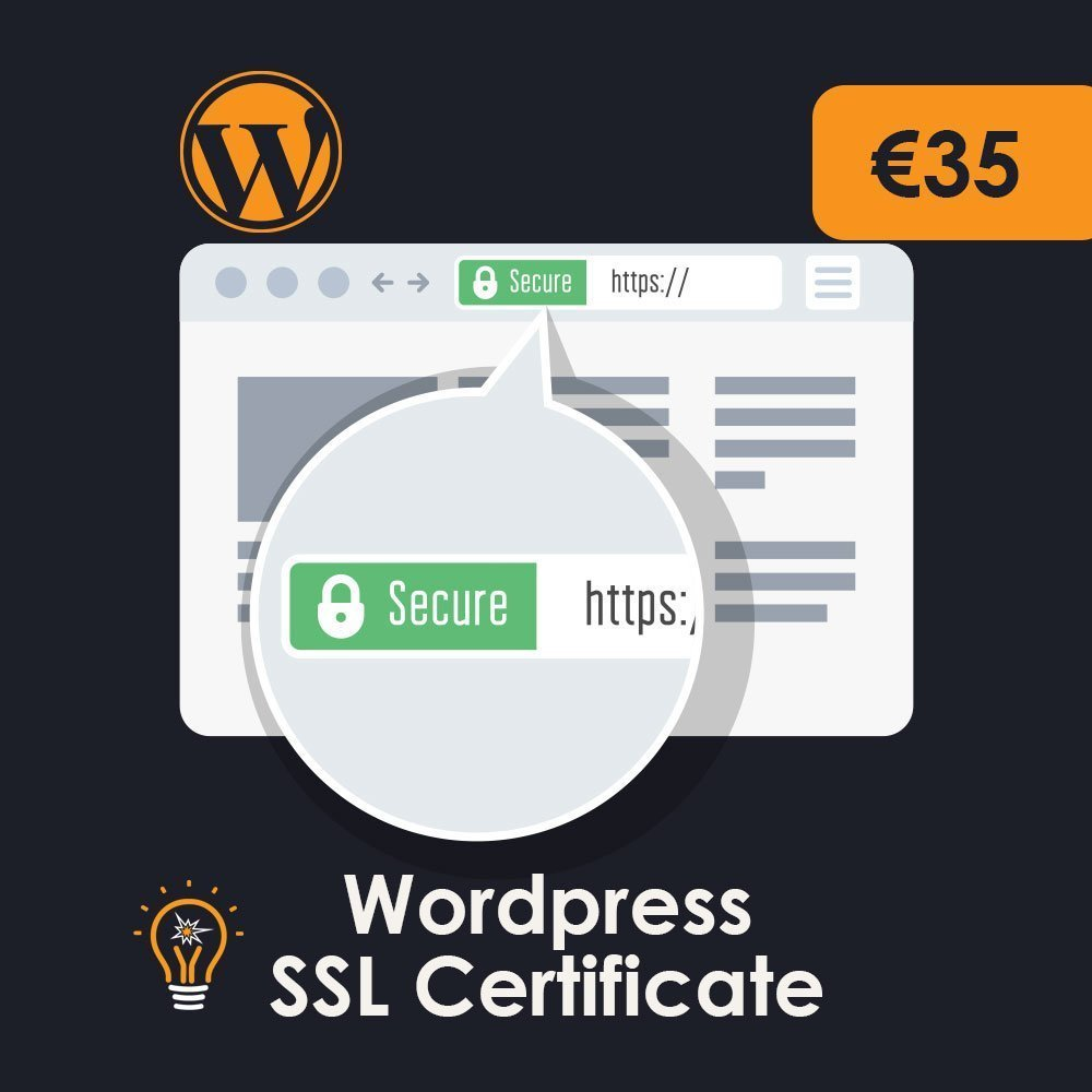 WordPress SSL Certificate installation services