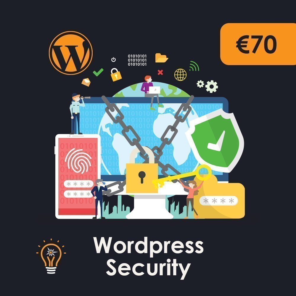 Wordpress security for your Wordpress website